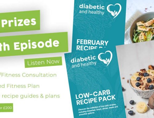 50th Episode Plus Charlotte's 5 Fundamentals of being Diabetic and Healthy
